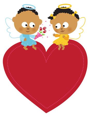 Sweet angels Reklamní fotografie - 8790980