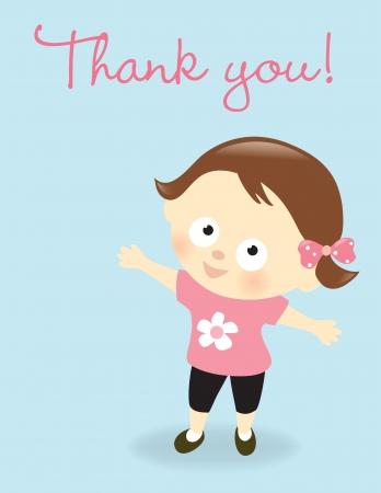 gratitudine: Grazie! Vettoriali