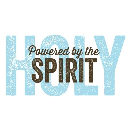 Vintage Christian design  Spirit Illustration