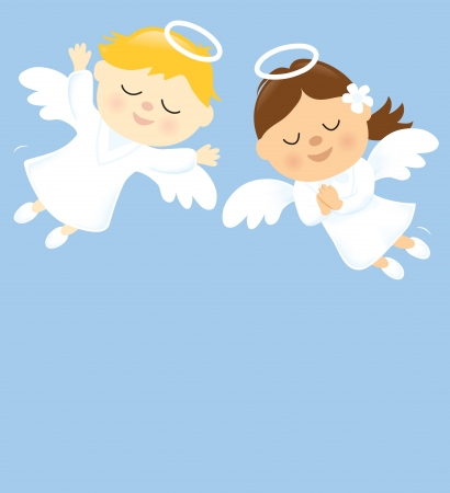 angel girl: Two Angels
