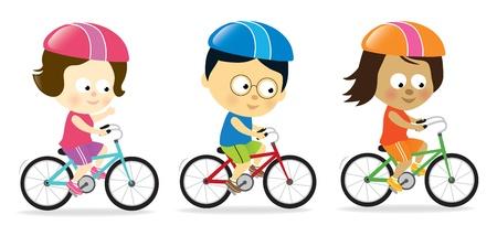 Volwassenen fietsen