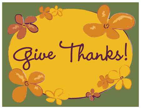 give: Give Thanks Poster