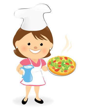 melted cheese: Pizza Chef 2 Illustration
