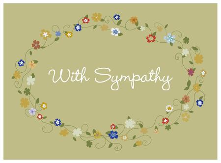 condolence: Sympathy card