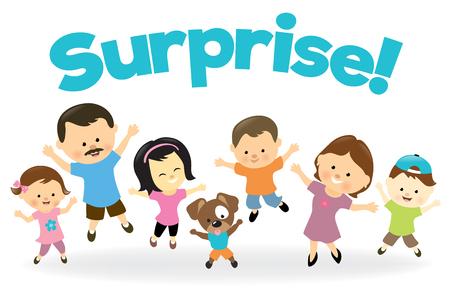 Surprise! Ilustrace