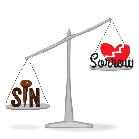 broken love: Sin weighs more sorrow