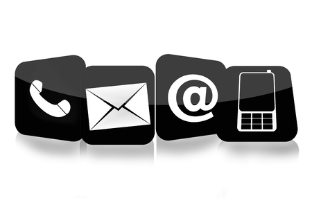 knowledgeable: contact us icons