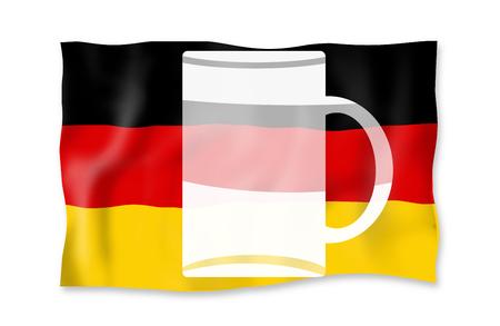 Germanys true national flag photo