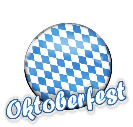 deign: Bavaria Oktoberfest Stock Photo