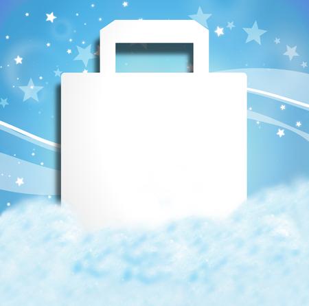 Weihnachten Winter-Entwurf Standard-Bild - 27232964