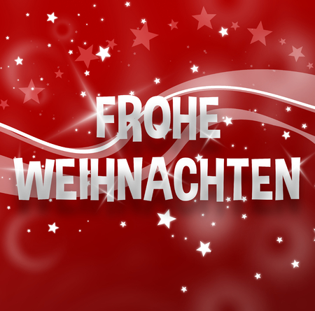 Merry Christmas German.Merry Christmas German Language