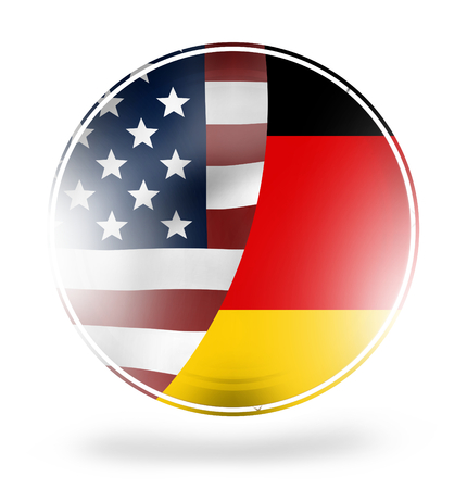 coalition: USA Germany Stock Photo