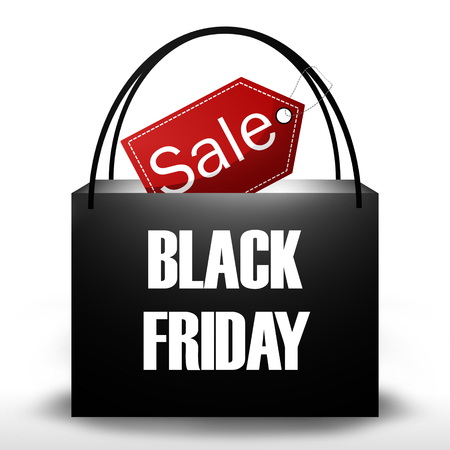 christmas savings: Black Friday Shopping Bag