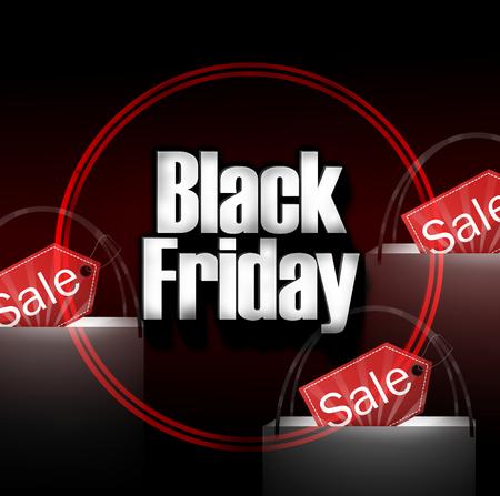 Black Friday Shopping Bag photo