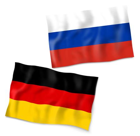 soccer wm: Germany Russia Flag Design