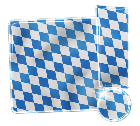 Oktoberfest Bavaria Button Icon Design Stock Photo - 29179928
