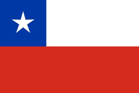 Chile Flag 写真素材