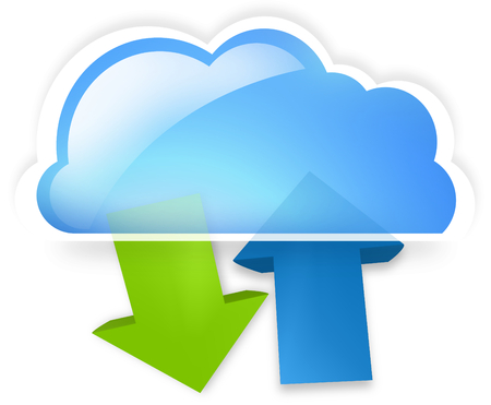 cloud upload download
