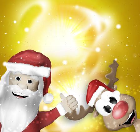 environmental awareness: Christmas Winter Design Stock Photo