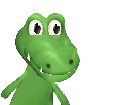 nostrils: crocodile Stock Photo