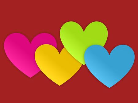 helpfulness: Colorful Hearts