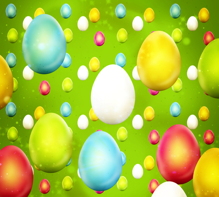 easter time: Easter Time Colorful Design
