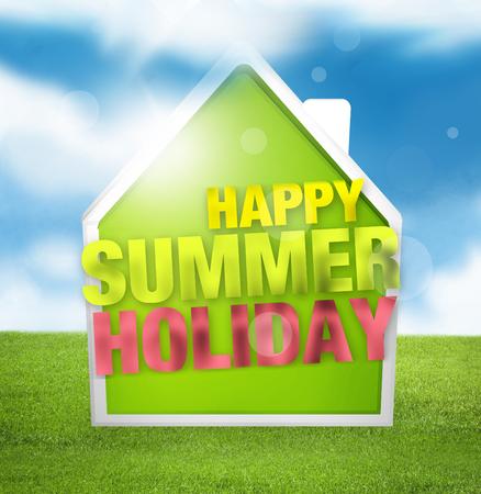 Happy Summer Holiday photo