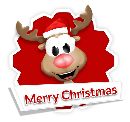 christmas reindeer merry christmas stock photo picture and royalty