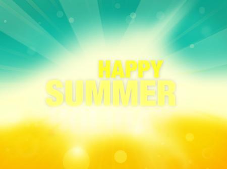 夏天时间背景