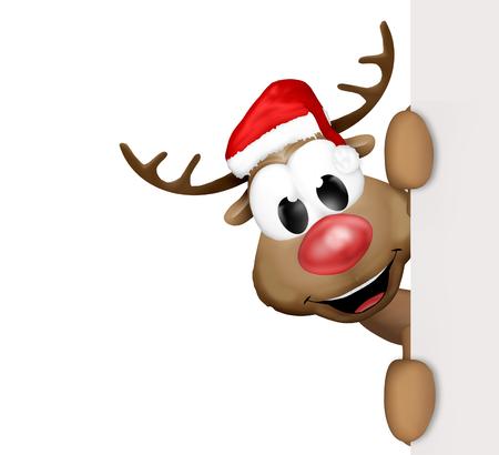 크리스마스 순록 만화