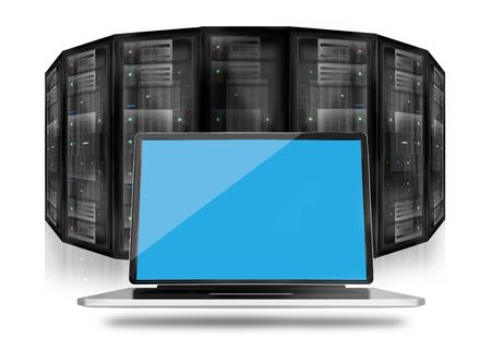 webhosting: Server Room Datacenter