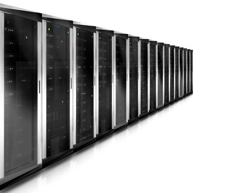 mysql: Server Tower Stock Photo