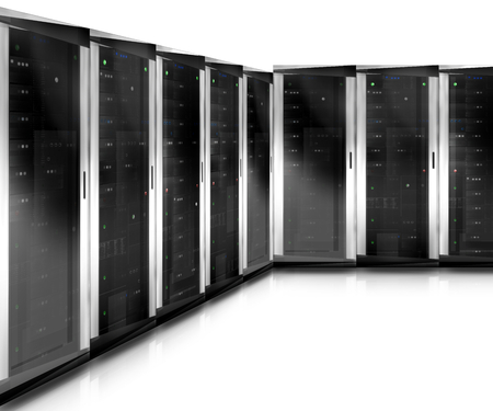 webhosting: Server Tower Stock Photo