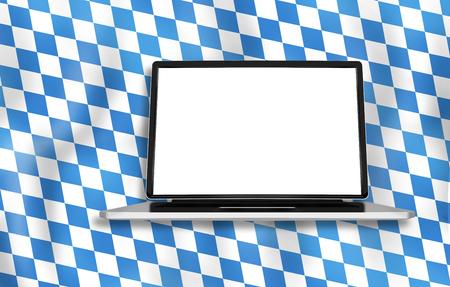 computer screen: