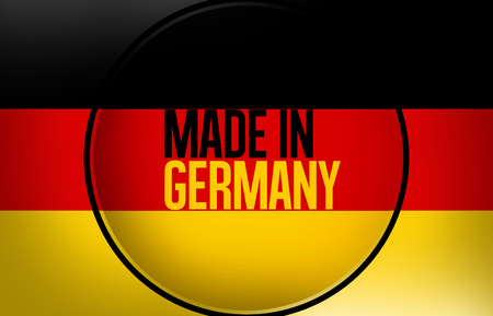 made in germany: Made in Germany Background Graphic