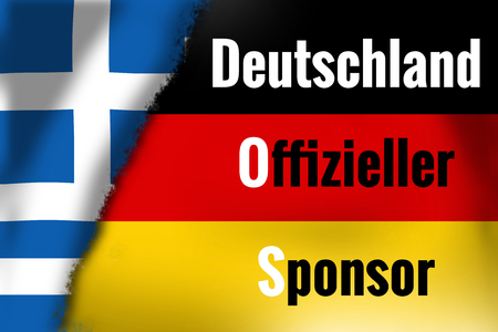 financial official: germany official sponsor Stock Photo