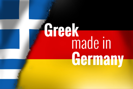 financial official: greek germany Stock Photo