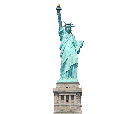 liberty statue: Statue of Liberty Stock Photo