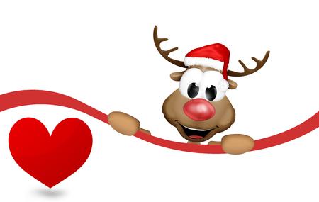 Image result for reindeer  heart