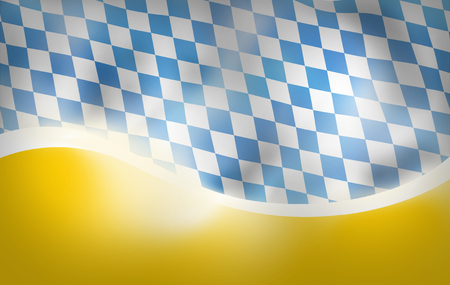 bavaria: Bavaria Flag Design yellow bottom background Stock Photo