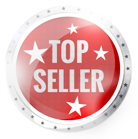 the seller: Top Seller Round Button