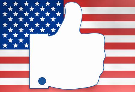american media: thumbs up