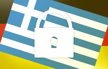 ambivalent: Germany Greek Flag