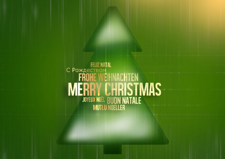 multilingual: Merry Christmas multilingual