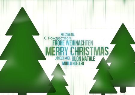 multilingual: Multilingual Merry Christmas