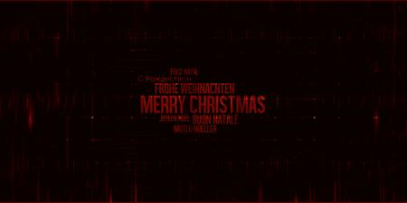 multilingual: Christmas Multilingual Background