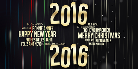 Merry Christmas and Happy New Year 版權商用圖片