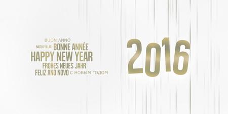 Happy New Year Standard-Bild