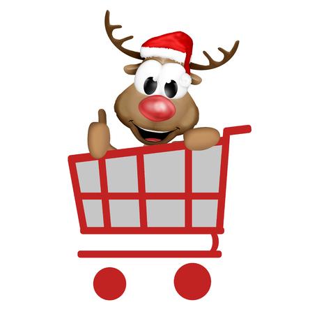 super market: Christmas Reindeer