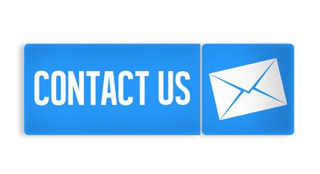 contact us modern Archivio Fotografico